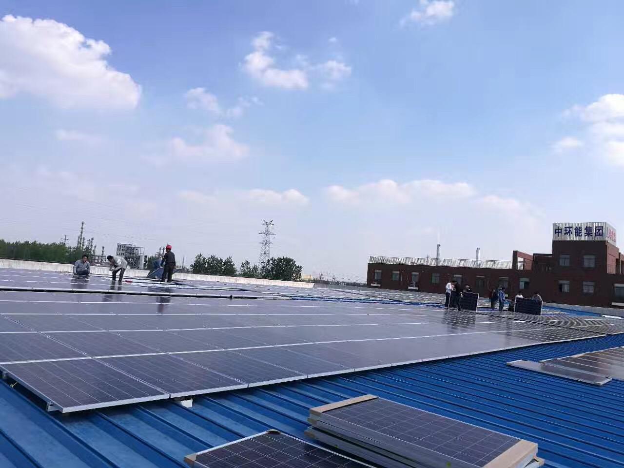 Năng lượng mặt trời - Mái nhà dân dụng